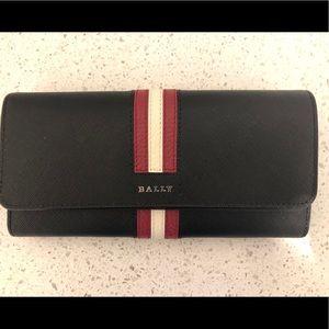 Bally Leather Bi-Fold Wallet